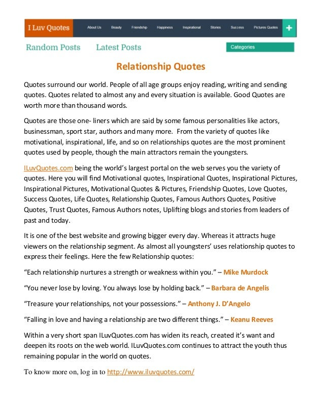 Relationship quotes pdf