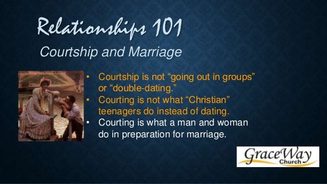 Dating and courtship christian