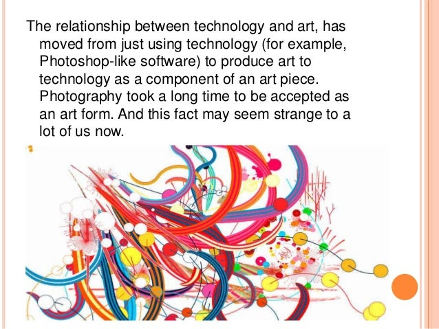 relationship between the artist and society It carefully outlines the relationship between the art object and the  in  establishing the relation between a work of art and society, but also that.