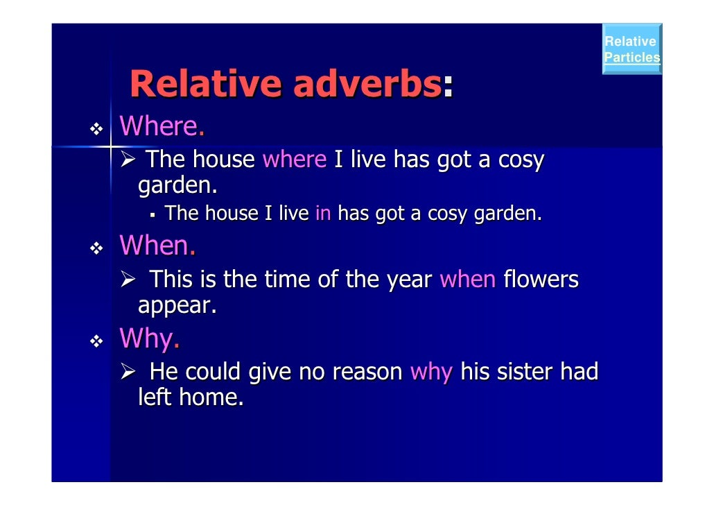 defining and non defining relative clauses examples pdf