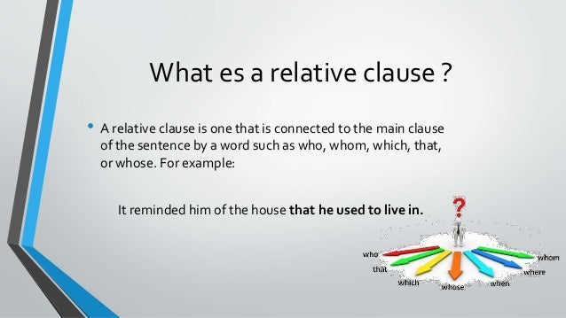 Relative clauses relative clauses 2 ccuart