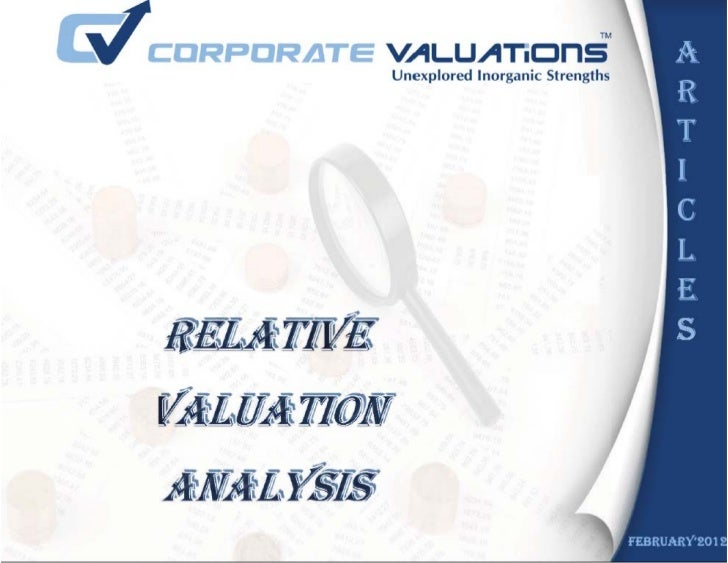 What is relative Valuation?                                       Disadvantages of Using Relative MultiplesRelative Valuat...