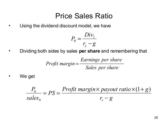 dividend discount model and price earning model The dividend discount model (ddm) is a system for valuing the price of a stock by using predicted dividends and discounting them back to present value.