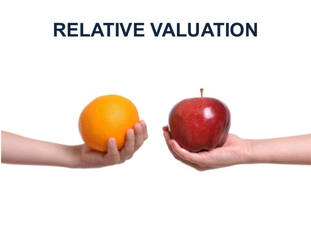 relative valuation Therefore, one may conclude that stocks in the industry are, on average, overvalued relative to book value (assuming that the industry overall is in stable growth.