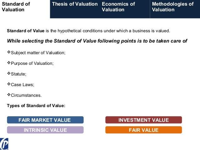 Relative Valuation - Techniques & Application