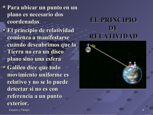 MECÁNICA CUÁNTICA, PRINCIPIOS DE LA RELATIVIDAD