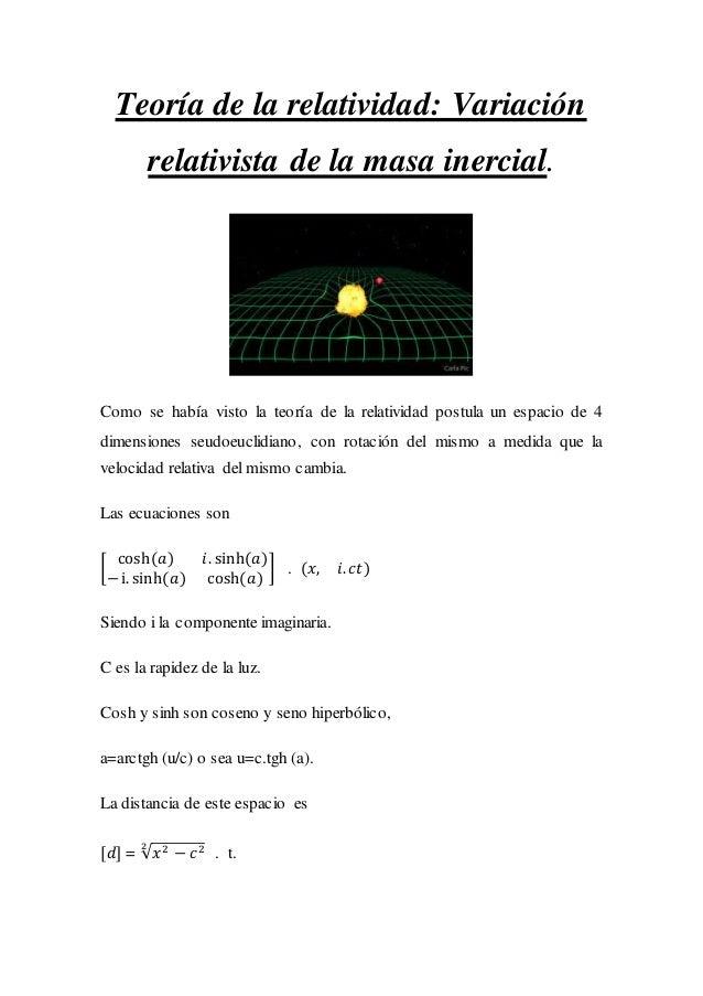 RELATIVIDAD ESPECIAL EJERCICIOS EBOOK DOWNLOAD