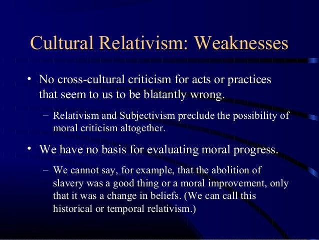 james rachels the challenge of cultural relativism thesis Meta-ethical cultural relativism essay 737 words | 3 pages meta-ethical cultural relativism the thesis of meta-ethical cultural relativism is the philosophical viewpoint that there are no absolute moral truths, only truths relative to the cultural context in which they exist.