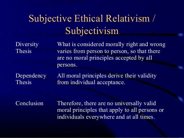 ethical relativism examples in business