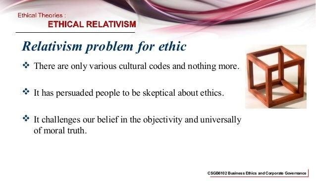 business ethics,Relativism