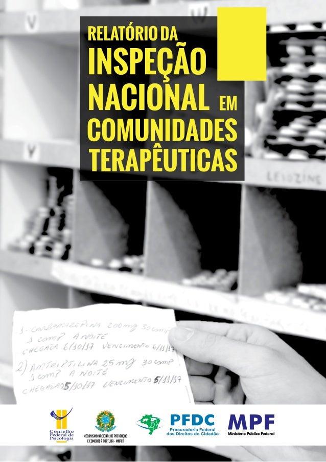 CONSELHO FEDERAL DE PSICOLOGIA MECANISMO NACIONAL DE PREVENÇÃO E COMBATE À TORTURA Procuradoria Federal dos Direitos do Ci...