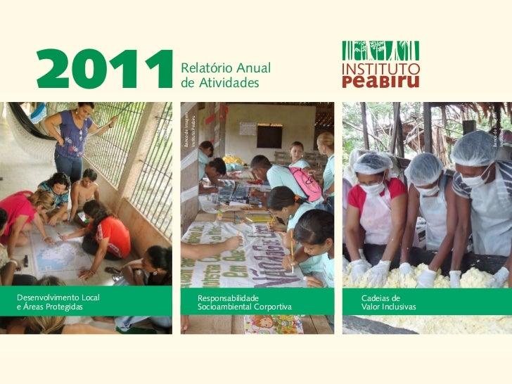 2011                                    Relatório Anual                                            de Atividades          ...