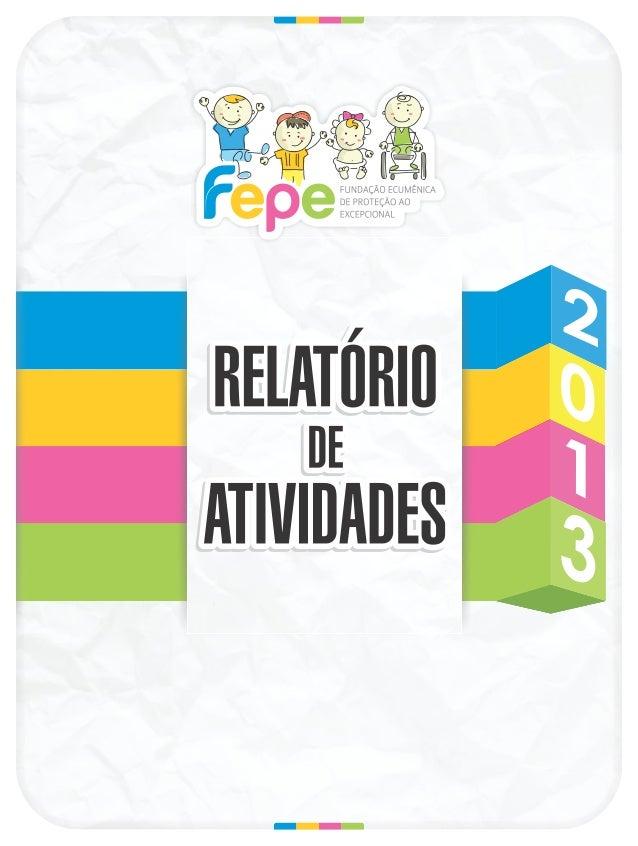 Relatorio de atividades_2013