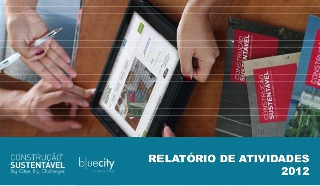 RELATÓRIO DE ATIVIDADESRELATÓRIO DE ATIVIDADES                   2012