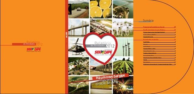 Panorama Econômico e Social                                      05                       Perfil da Administração Pública...