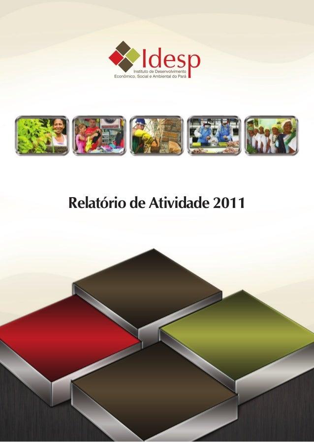 Relatório de Atividade 2011