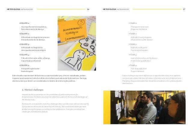 METODOLOGIA METHODOLOGY METODOLOGIA METHODOLOGY38 39 IDEAÇÃO IDEATION Após os participantes serem introduzidos ao contexto...