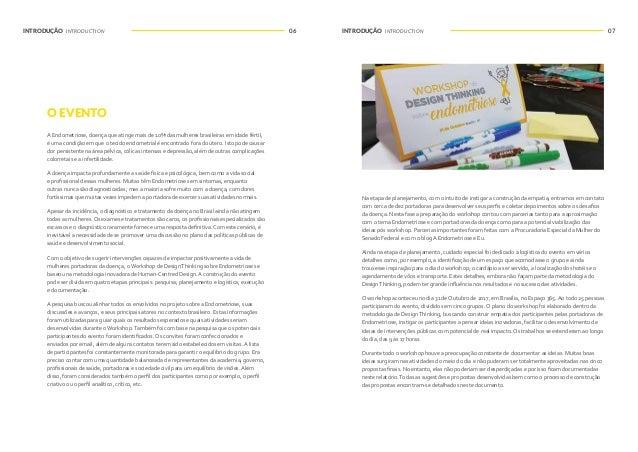 08 09INTRODUÇÃO INTRODUCTION INTRODUÇÃO INTRODUCTION THE EVENT Endometriosis, disease that reaches over 10% of Brazilian w...