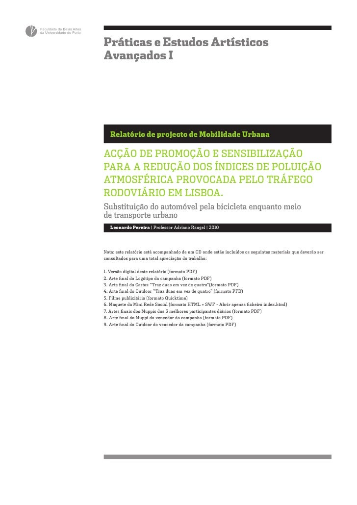Faculdade de Belas Artesda Universidade do Porto                           Práticas e Estudos Artísticos                  ...