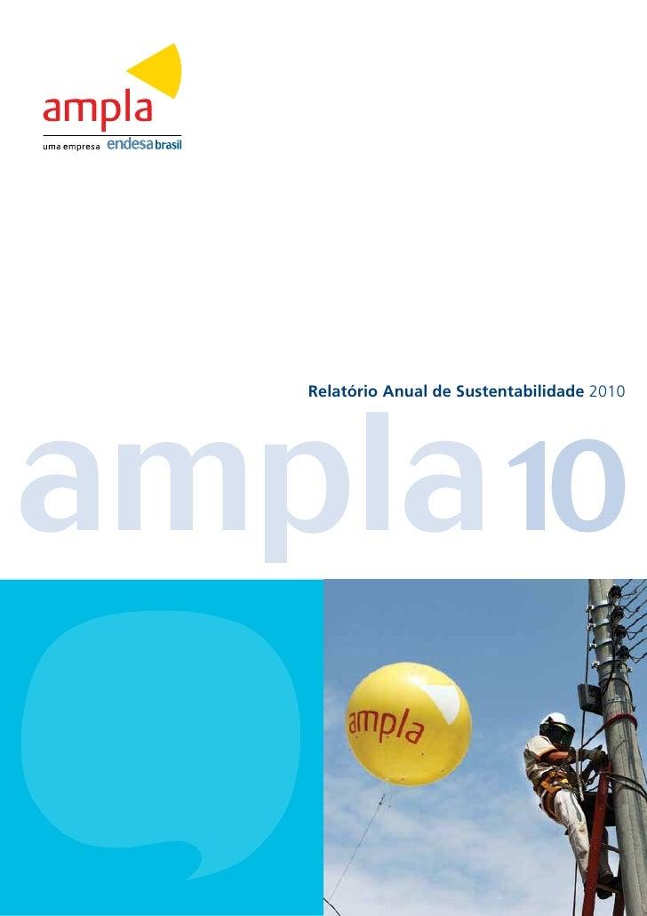 ampla10   Relatório Anual de Sustentabilidade 2010