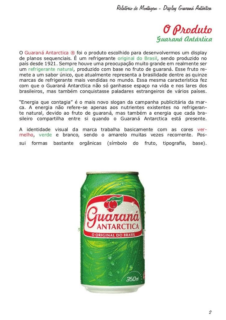 Relatório Display Guaraná Antártica Slide 2