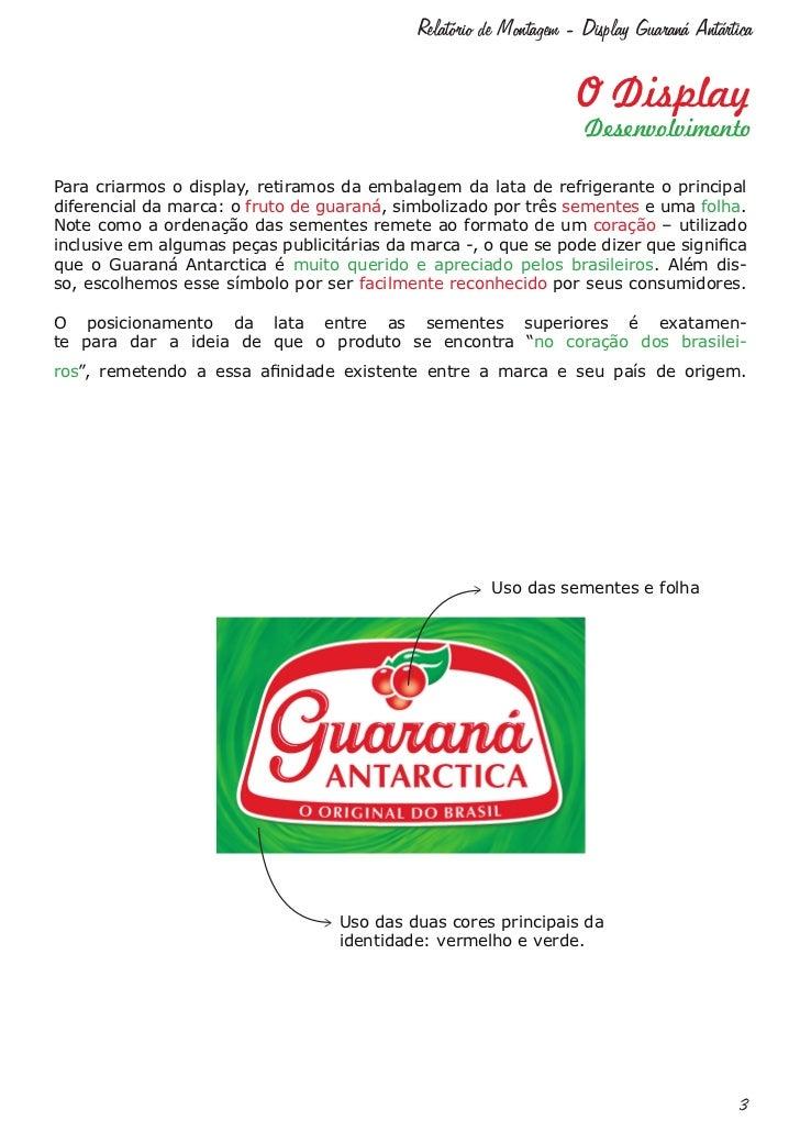 Relatório Display Guaraná Antártica Slide 3