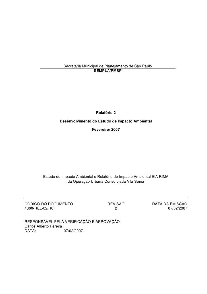 Secretaria Municipal de Planejamento de São Paulo                                   SEMPLA/PMSP                           ...