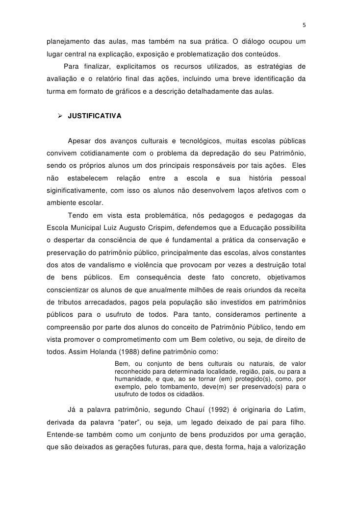 Muito Relatório do Primeiro Bimestre - Março/Abril 2012. SI05