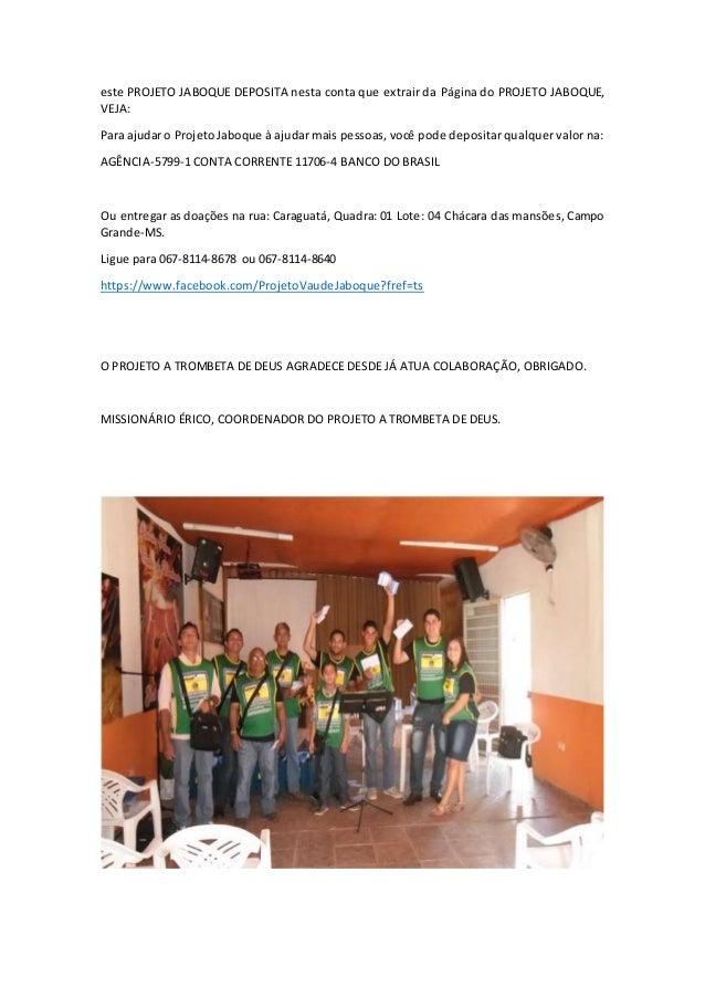 Relatório das atividades evangelística pelo tipo de evangelização de rua casa por casa Slide 2