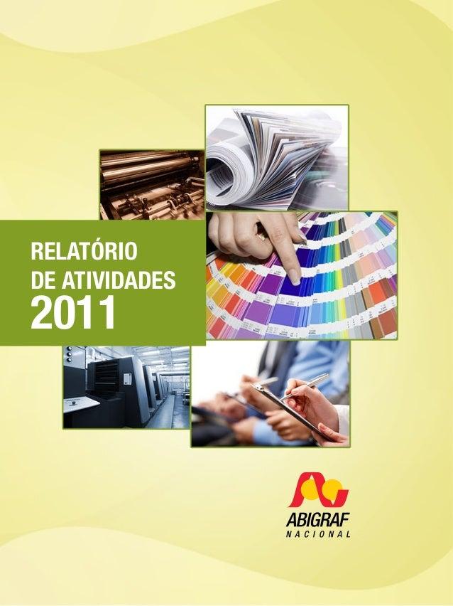 1 RELATÓRIO DE ATIVIDADES 2011