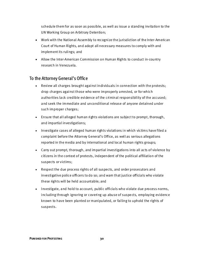 31 HUMAN RIGHTS WATCH | MAY 2014 To the National Assembly The president of the National Assembly should take necessary act...