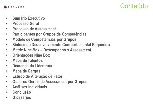 Relatório final de assessment empresa v 2 Slide 2