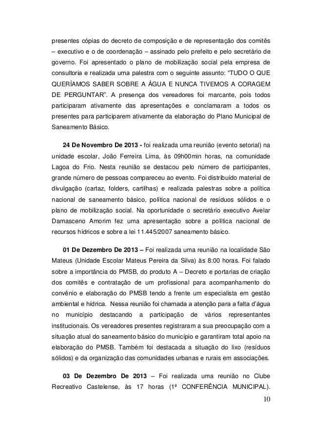 10  presentes cópias do decreto de composição e de representação dos comitês – executivo e o de coordenação – assinado pel...