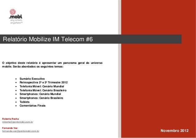 Aorta                                                                        Fernanda VazRelatório Mobilize IM Telecom #6 ...