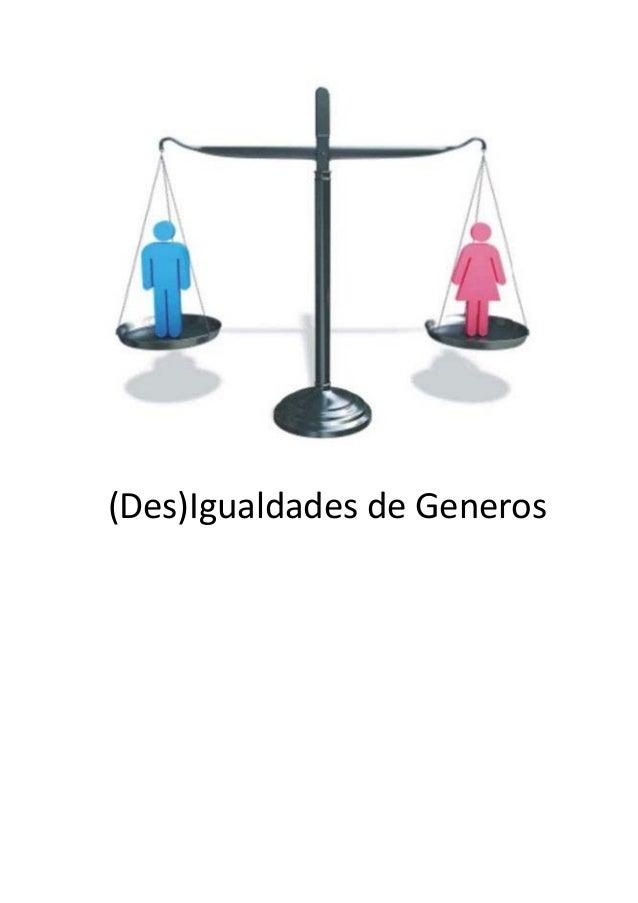 (Des)Igualdades de Generos