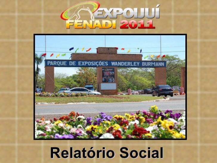 Relatório Social
