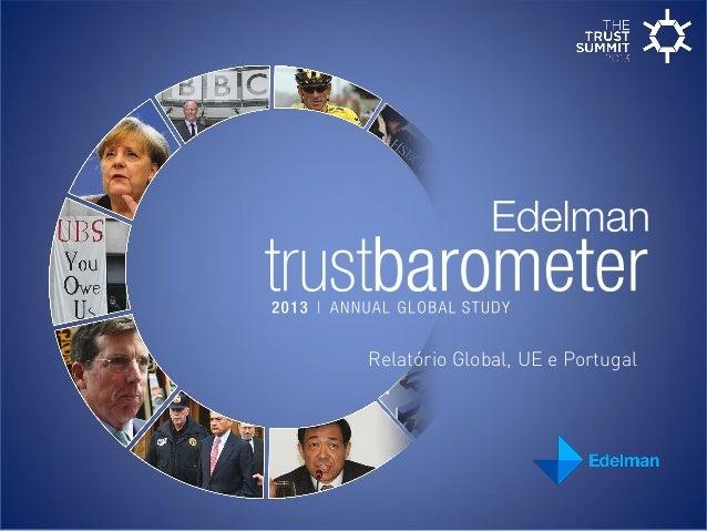 Relatório Global, UE e Portugal