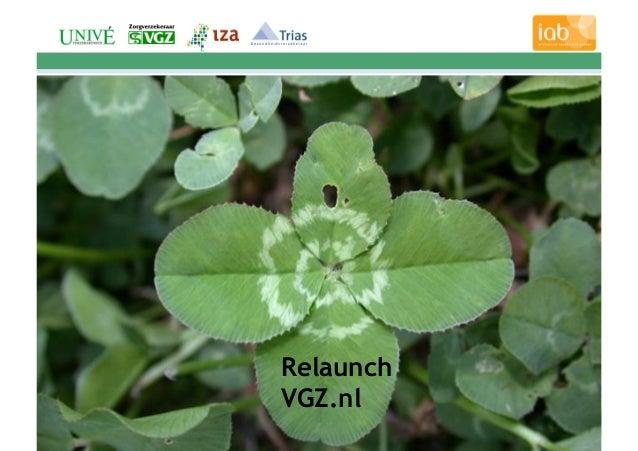 1 Relaunch VGZ.nl