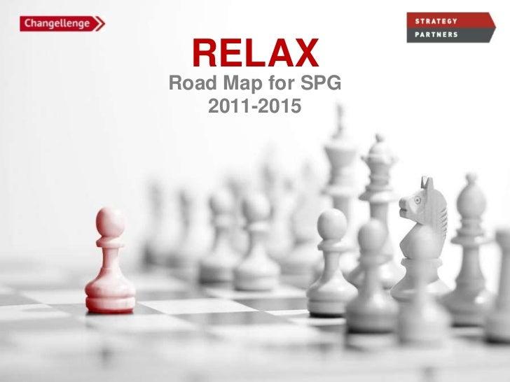 RELAXRoad Map for SPG   2011-2015