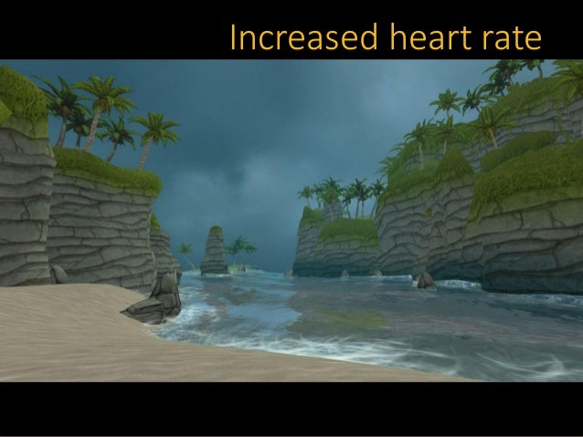 Increased heart rate