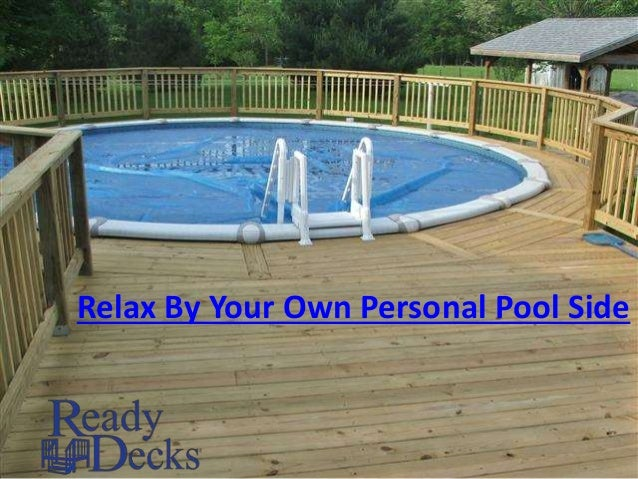 Relax By Your Own Personal Pool Side