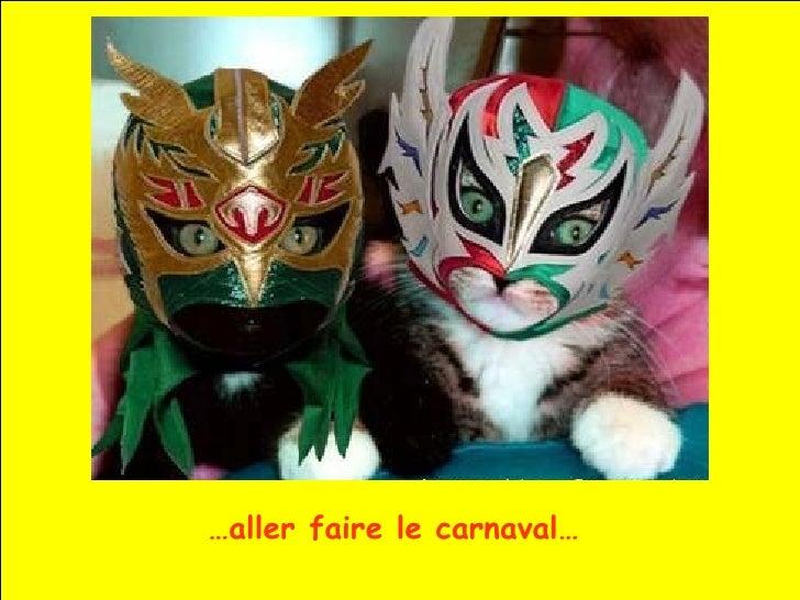 … aller faire le carnaval…