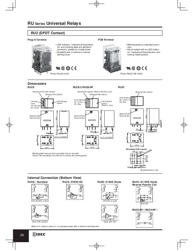 catalog relay idec wwwhaophuongcom 27 638?cb\=1490072567 idec relay wiring diagram control relay schematic \u2022 wiring 4 Pin Relay Wiring Diagram at soozxer.org