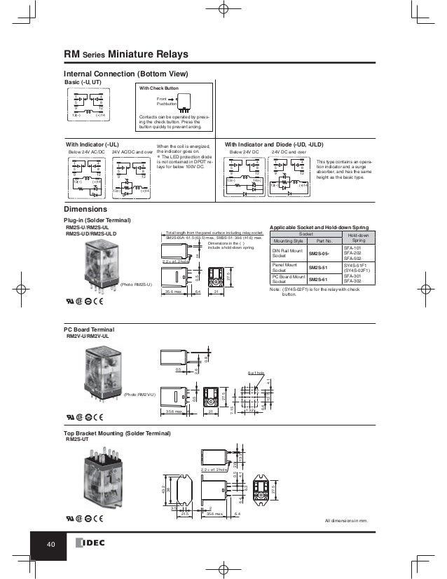 idec relay wiring diagram 25 wiring diagram images SPST Relay Wiring Diagram 5 Pin Relay Wiring Diagram