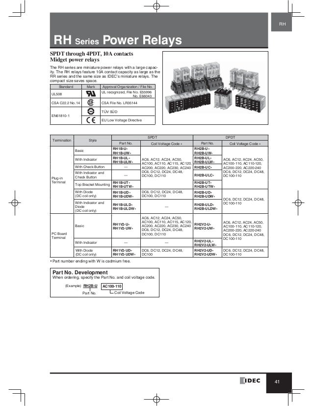 Idec Rh2b Ul Wiring Diagram : 27 Wiring Diagram Images