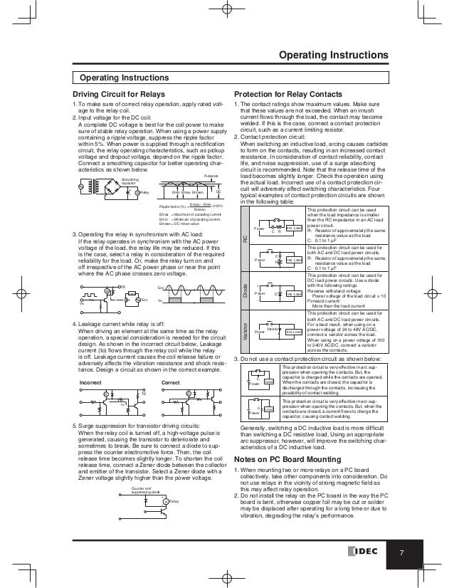 catalog relay idec www haophuong com rh slideshare net Wiring Diagram Symbols idec sh2b-05 wiring diagram