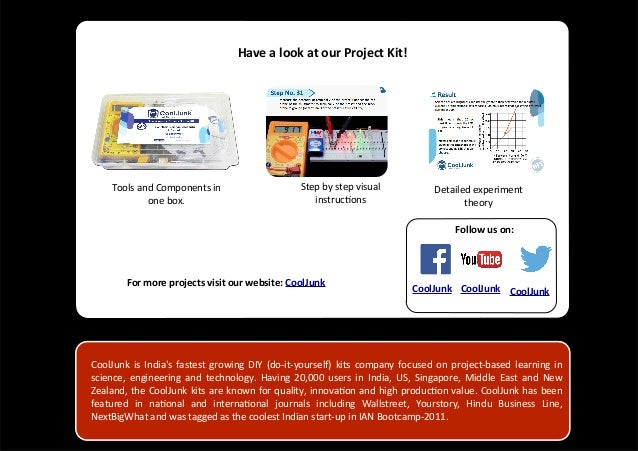 Physics investigatory project on relay as an oscillator 4 have a look at our project kit cooljunk is indias fastest growing diy solutioingenieria Gallery
