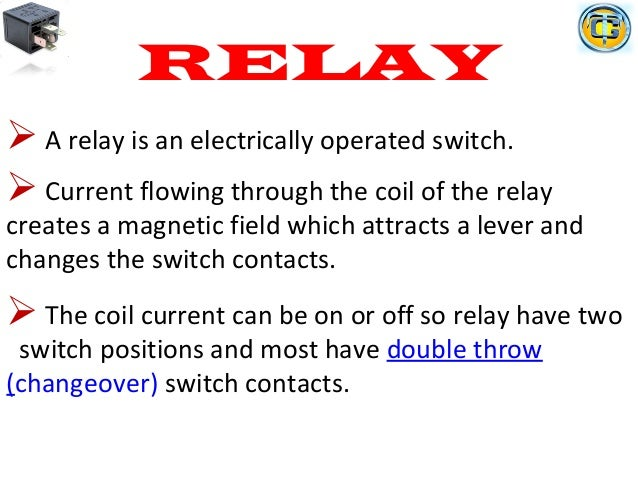Electrical Relays Ppt