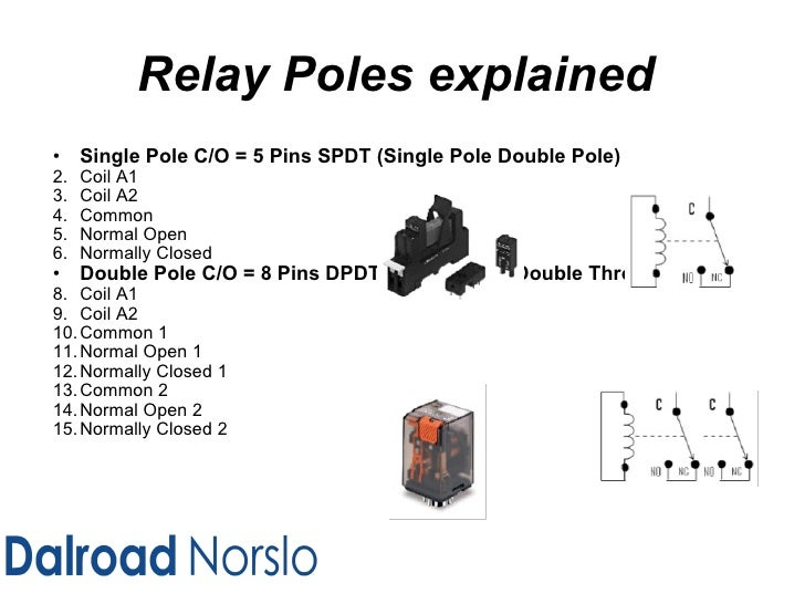 dalroad norslo industrial equipment relay training level 1 tyc 3 Pole Relay Diagram 3 Pole Relay Diagram #88 4 pole relay diagram