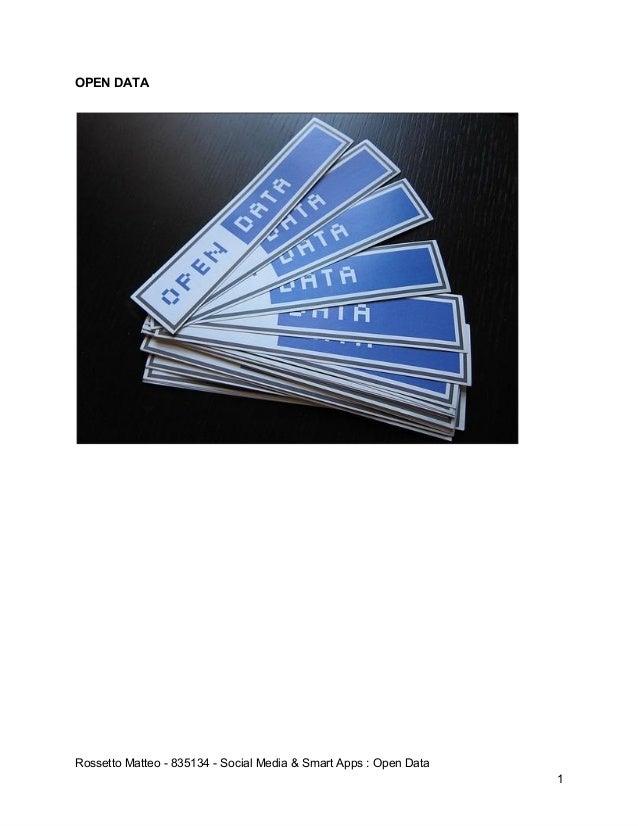OPENDATARossettoMatteo835134SocialMedia&SmartApps:OpenData1
